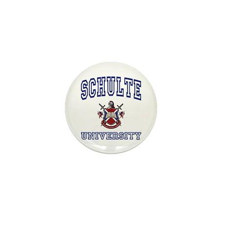 SCHULTE University Mini Button