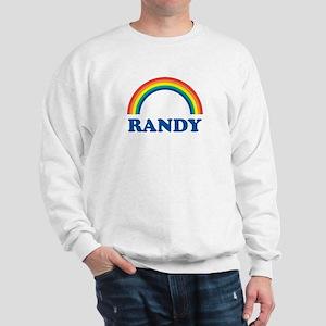 RANDY (rainbow) Sweatshirt