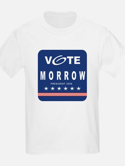Vote Morrow Kids T-Shirt