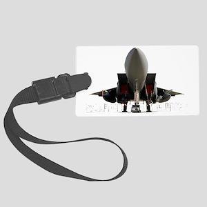 F-15 underside Large Luggage Tag