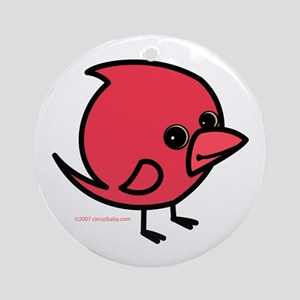 Northern Cardinal Ornament (Round)