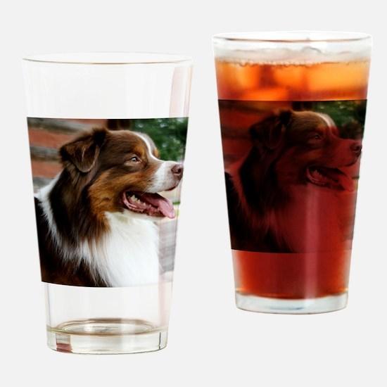 calendarredporch Drinking Glass
