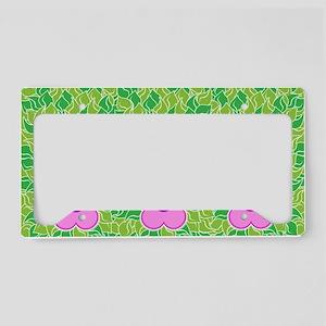 FlowerLaptopSkins License Plate Holder