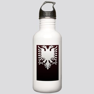 Albanian Eagle White o Stainless Water Bottle 1.0L