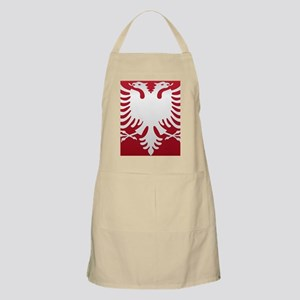 Albanian Eagle White on Red iPhone Case 3GS Apron