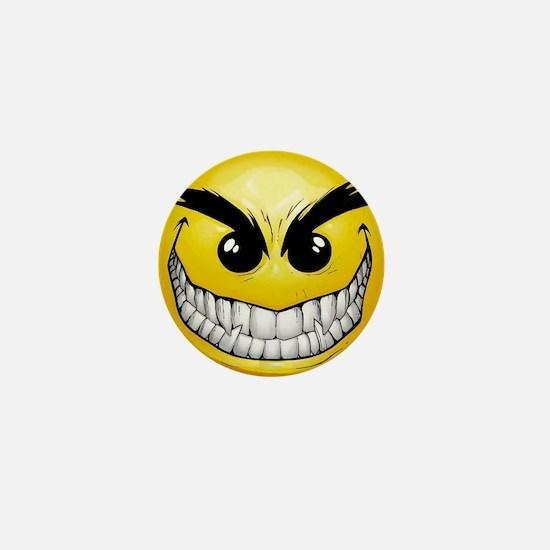 smiley-face-wallpaper-008 Mini Button
