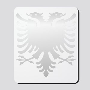 Albanian Eagle Silver 56in Mousepad