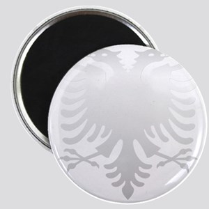 Albanian Eagle Silver 56in Magnet