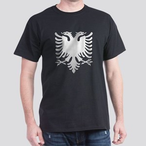 Albanian Eagle Silver 56in Dark T-Shirt