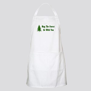 May The Forest Be With You BBQ Apron