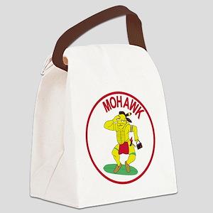 Army MI Aviation Military Intelli Canvas Lunch Bag