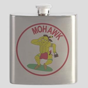 Army MI Aviation Military Intelligence MOHAW Flask