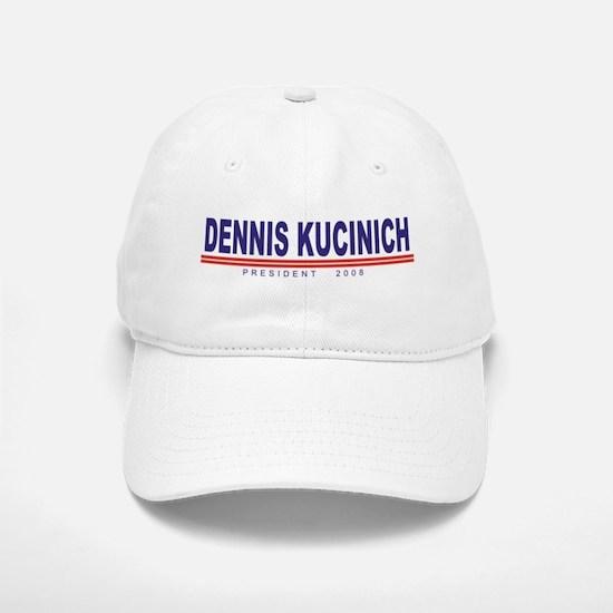 Dennis Kucinich (simple) Baseball Baseball Cap