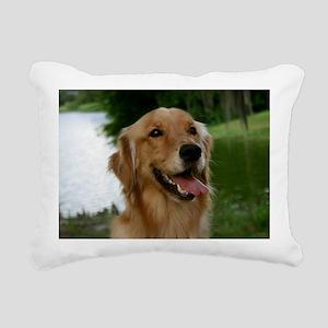 goldenFRAMEDPRINTLARGE Rectangular Canvas Pillow