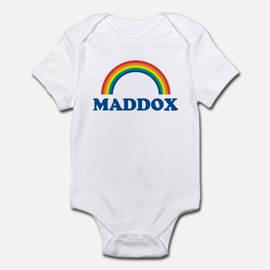 MADDOX (rainbow) Infant Bodysuit