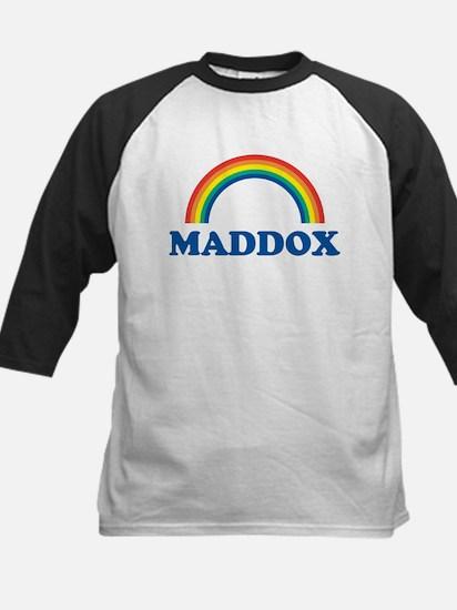 MADDOX (rainbow) Kids Baseball Jersey