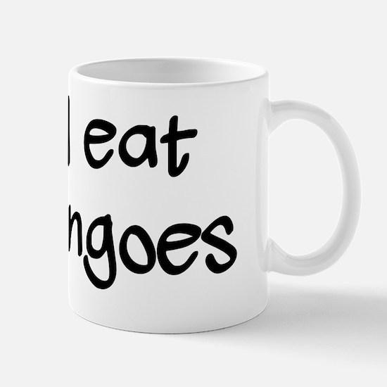 Eat Dingoes Black Mug