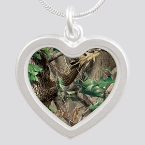 camo-swatch-hardwoods-green Silver Heart Necklace
