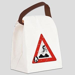 Sign_JumpHills Canvas Lunch Bag
