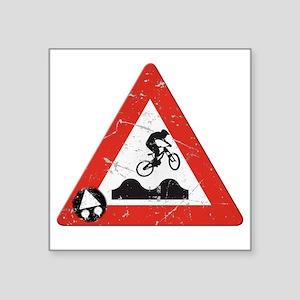 """Sign_JumpHills Square Sticker 3"""" x 3"""""""