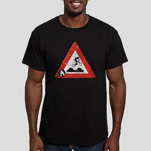 Sign_JumpHills Men's Fitted T-Shirt (dark)