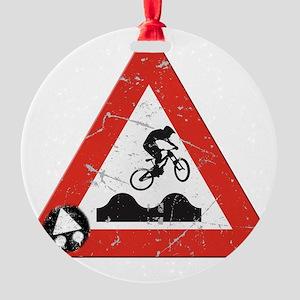 Sign_JumpHills Round Ornament