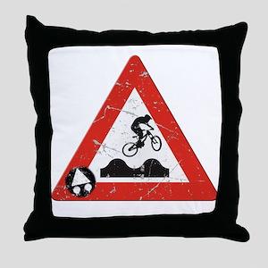 Sign_JumpHills Throw Pillow