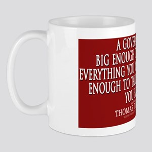 Big Government Quote Mug