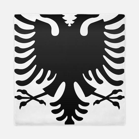 Albanian Eagle Carbon Queen Duvet