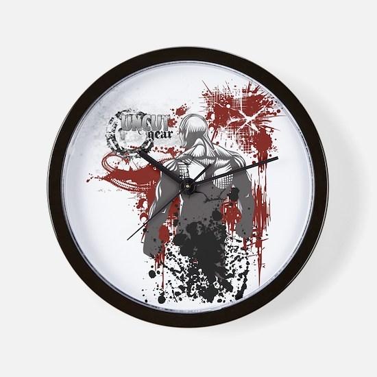 whitegearRSLVR Wall Clock