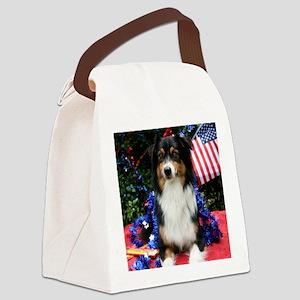 mousebellepat Canvas Lunch Bag