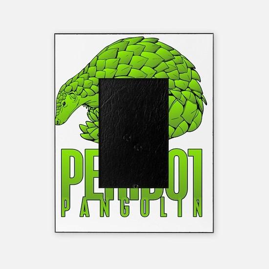 PERIDOT PANGOLIN WORKING Picture Frame