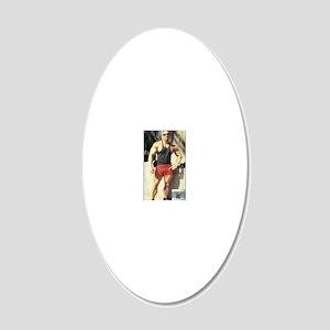 Big Sean Allan (26) (calcove 20x12 Oval Wall Decal