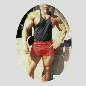 Big Sean Allan (26) (calcover) Oval Ornament