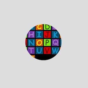 ABC RAINBOWD Mini Button