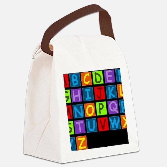 ABC RAINBOWD Canvas Lunch Bag