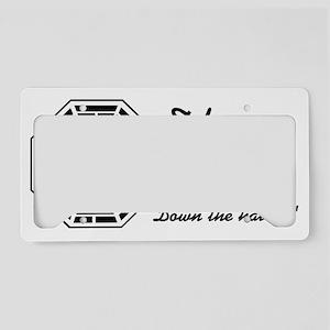 lounge7 License Plate Holder