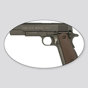 Tanfoglio Witness 1911 Blowback Sticker (Oval)