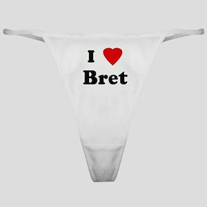 I Love Bret Classic Thong