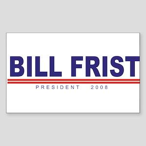 Bill Frist (simple) Rectangle Sticker