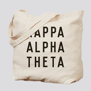 Kappa Alpha Theta Title Tote Bag