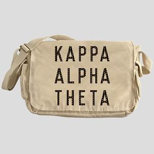 Kappa Alpha Theta Title Messenger Bag
