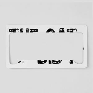 catdidit2 License Plate Holder