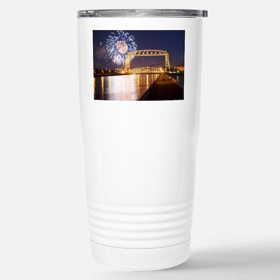 lift bridge Stainless Steel Travel Mug