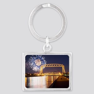 lift bridge Landscape Keychain