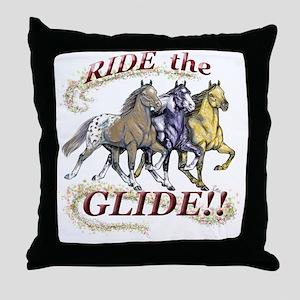 GLIDE TRIO 1 Throw Pillow