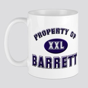 Property of barrett Mug