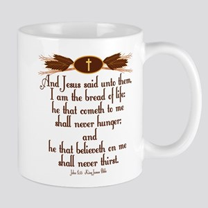 John 6 35 Wheat Mugs