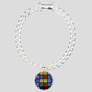 ABC RAINBOWDBG Charm Bracelet, One Charm