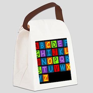 ABC RAINBOWDBG Canvas Lunch Bag